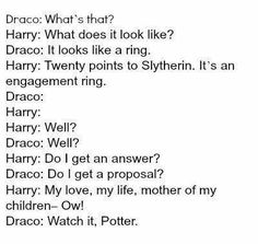 DRARRY! I don't ship them, but this is great