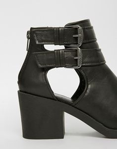 New Look Connie Cut Out Ankle Boots