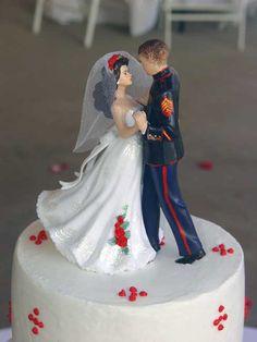 Usmc Wedding Cake Toppers http://prinmontreal.blogspot.com/2013/06/usmc-wedding-cake-toppers.html