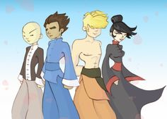 Long ago before the major wars of the Shen Gong Wu, there were the 4 bright students of the temple of Xiaolin. Description from deviantart.com. I searched for this on bing.com/images