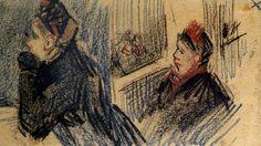 Two Women in a Balcony Box by @artistvangogh #realism
