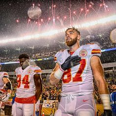 """11.2k Likes, 30 Comments - Kansas City Chiefs (@chiefs) on Instagram: """"Behind the Lens: Counting down the top photos from the season. No. 1 - Sunday Night Rain. Click on…"""""""