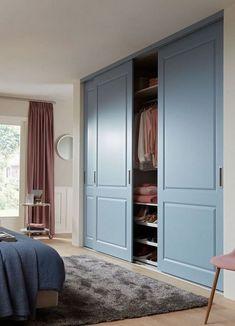 The Honest To Goodness Truth On Wood Door Design 280 - Pecansthomedecor Bedroom Closet Design, Bedroom Wardrobe, Wardrobe Design, Bedroom Doors, Closet Designs, Home Bedroom, Wardrobes For Bedrooms, Wardrobe Wall, Master Bedroom