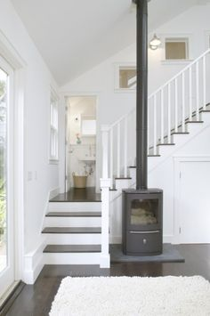 burning stove in stairs closet - Google zoeken
