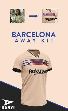 Barcelona football kit 21/22 on Behance Sport Shirt Design, Sports Jersey Design, Sport T Shirt, Soccer Kits, Football Kits, Football Jerseys, Barcelona Football Kit, Jersey Outfit, Soccer Uniforms