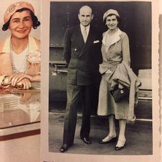 Vanity Fair's Hollywood issue has an article on Coco Chanel's brief sojourn in Los Angeles in 1931. Love seeing two new images of her (on the left from the Los Angeles Times and on the right, charmingly deckle-edged, from the Samuel Goldwyn Jr. Family trust) but how annoying that colorization was deemed necessary. Chanel had to have been wearing her famous beige (or maybe greige) and not such a dippy shade of pink. The bottom section of her lapels has been made pink changing the whole…