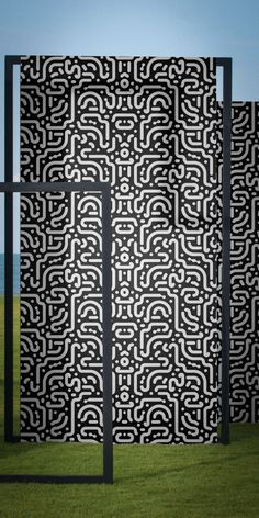 Stroke The Wallpaper II by Chris van Rooyen — Shop Optical Illusion Wallpaper, Negative And Positive Space, Wallpaper Crafts, Japanese Artists, Repeating Patterns, Optical Illusions, Modern Design, Van, Stripes