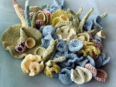 crochet coral