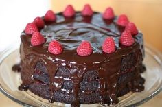 Chocolate raspberry cake Recipe:  http://myhoneysplace.com/chocolate-raspberry-cake-recipe/