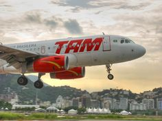 TAM Airlines, Rio de Janeiro, Brazil