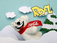 Coke Polarbären für Whatsapp
