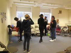 PAYP Participants during an acting exercise