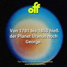 22 unglaubliche Fakten über den Uranus William Shakespeare, Moon Orbit, King Club, Roman Gods, Space Facts, Latest Discoveries, Science Facts, Everyone Knows, Space Probe