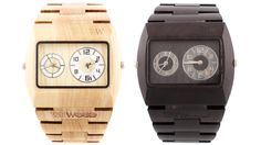 {Limited Edition Wood Watch} eco-conscious style! by WeWOOD #eco #watch #sustainable