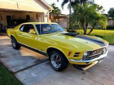 70 Mustang mach1