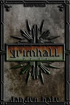 New Grimhall book cover