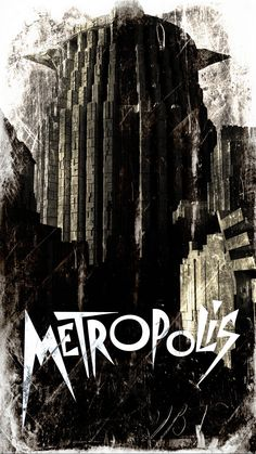 A piece I did for Uni on Fritz Lang's 1927 Metropolis. We had to produce concept art for a modern-day version of either Metropolis or Day of The Triffid. Metropolis Fritz Lang, Metropolis 1927, Tv Movie, Sci Fi Movies, Dystopian Society, Film Posters, Travel Posters, The Time Machine, Chef D Oeuvre