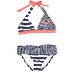 Looks like it's from Cute Swimsuits, Cute Bikinis, Kids Swimwear, One Piece Swimwear, Roxy Bikini, Halter Bikini, Bikini Set, Roxy Bathing Suits, Suit Shoes