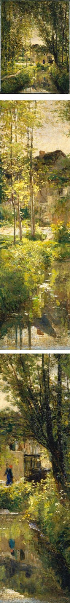 Eye Candy for Today: Daubigny's Landscape with Sunlit Stream