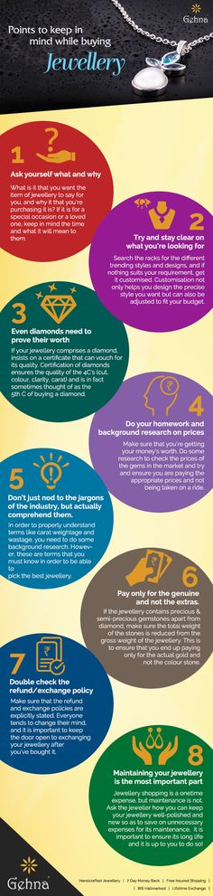 Points To Keep In Mind While Buying Jewellery