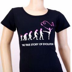 The true story of evolution, rhythmic gymnastics.