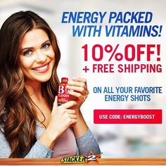 Choose from over 20 different #energy #shots  Visit our ENERGY section and choose your favorite energy shot.  #positive #attitude #morning #fresh #energetic #haveagoodday #loveyouall #keepsmiling #positivevibes #riyashines  #instapic #tagsforlikes #tflers #hyper #full_of_life #girl #zumba #fitness #amazingexperience #nationalplayers #fit #workoutsession #blessing #truefighter #strength #inspiration