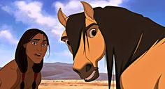 Spirit: Stallion of the Cimarron Spirit Horse Movie, Spirit The Horse, Spirit And Rain, Dreamworks Studios, Dreamworks Animation, Disney And Dreamworks, Animation Film, Horse Movies, Horse Books