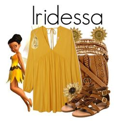 Iridessa from Disney's Tinkerbell Disney Themed Outfits, Disney Bound Outfits, Modern Outfits, Cute Outfits, Summer Outfits, Forever 21 Fashion, Disney Inspired Fashion, Disney Fashion, Chan Luu