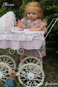 Reborn Toddler Doll Bonnie by Linda Murray Now Olivia   eBay