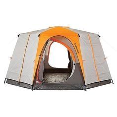 Coleman OCTAGON 98 Large 2 Room 8 Person Cabin Style Family Outdoor Camping Tent for sale online Best Tents For Camping, Tent Camping, Camping Gear, Camping Hacks, Outdoor Camping, Outdoor Gear, Camping Essentials, Backpacking, Camping Store