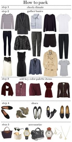 Capsule wardrobe, travel wardrobe, professional wardrobe, packing tips fo. Capsule Wardrobe, Travel Wardrobe, Wardrobe Basics, My Wardrobe, Professional Wardrobe, Style Work, Mode Style, Style Me, Fashion Mode