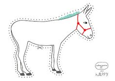1000 Images About Thema Ezels Kleuters Donkey Theme
