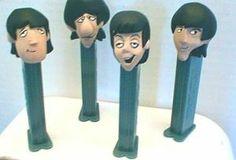 Original Pez Dispenser   Unauthorized - The Beatles PEZ Dispensers