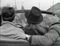 Jean-Luc Godard's Bande A Part - La Nouvelle Vague (French New Wave) cinema classic.