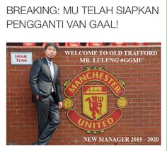 #BreakingNews lulung welcome to old trafford