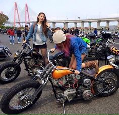 Hello, I'm Austin. And this is Chicks on Motorcycles. This is not Sex Objects on...