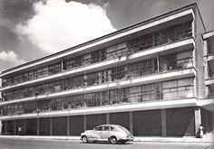 Edificio de apartamentos, Calles Serapio Rendón Y Alfonso Herrera, San Rafael, México DF 1949    Arq. Augusto H Álvarez    Foto: Guillermo Zamora