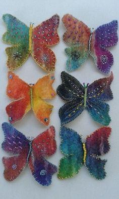 Schmetterlinge von Filzele
