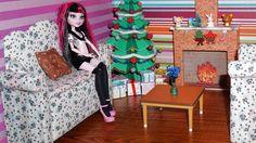 Como fazer um sofá #2 para boneca Monster High, Pullip, Barbie e etc