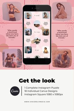 Get the Instagram puzzle look with this amazing template, made on Canva so all you have to do is plug and play with your own branding.    Instagram, Instagram design, Instagram hacks, Instagram tips and tricks, Instagram tips, Instagram templates, Creative Market, Instagram Canva Template, Instagram aesthetic, Instagram grid, Instagram perfect grid, Instagram content, Instagram content creation, Instagram content template, instagram post ideas, instagram content ideas, instagram design Instagram Square, Instagram Grid, Instagram Design, Instagram Tips, Instagram Posts, Marketing Strategies, Marketing Plan, Business Marketing, Content Marketing
