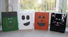 Homemade Trick-or-Treat Bags