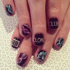 Sweet OB nail art! #cloneclub #orphanblack