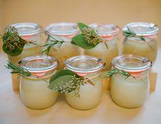 DIY Wedding Favor: Herb Infused Salt Scrub