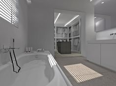 One only surface for the whole bathroom: Pietrablu Well by Arblu ...