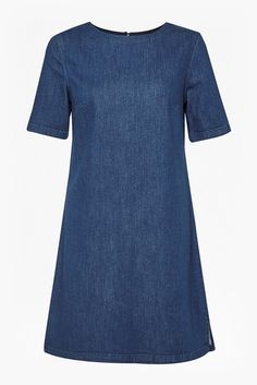 From work to the weekend, French Connection's range of women's dresses has got you covered. Shop women's dresses from French Connection now. Jean Dress Outfits, Simple Summer Dresses, Short Sleeves, Short Sleeve Dresses, Elegant Saree, Tent Dress, List Style, Dresses For Teens, Lovely Dresses