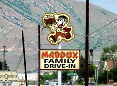 Maddox Family Drive-In - Brigham City. Would be fun to do along with Golden Spike National Park.