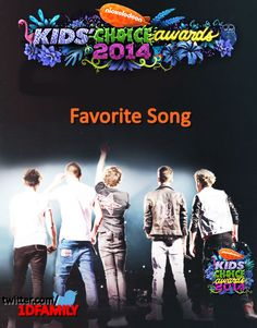 Guess who won for Favorite Song in the #KidsChoiceAwards #KCA