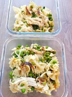 This chicken pea pasta salad can be enjoyed warm or cold and served for dinner or lunch. With only 3 main ingredients it's easy to make and super healthy. Healthful Lunch Ideas That Will Essentially Keep You 100 % Until Dinner! Lunch Meal Prep, Easy Meal Prep, Healthy Meal Prep, Healthy Snacks, Easy Meals, Healthy Eating, Healthy Lunch Ideas, Healthy Cold Lunches, Cold Meals
