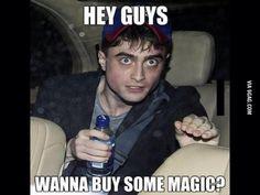 Hey guys, wanna buy some magic?