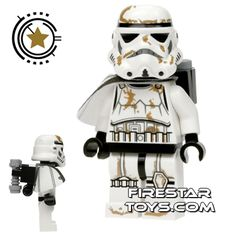LEGO Star Wars Mini Figure - Stormtrooper - White Pauldron